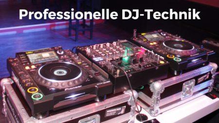 Professionelle DJ-Technik von DJ Thorsten Weber