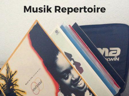 Musik Repertoire von DJ Thorsten Weber
